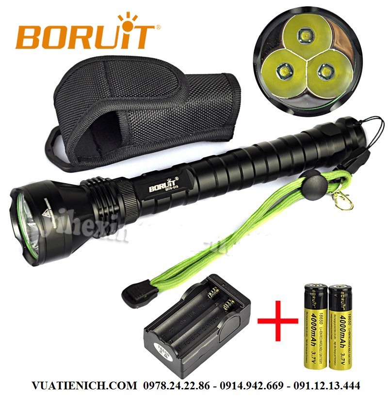 BORUIT-515-4000-Lumen-Aluminum-LED-Emergency